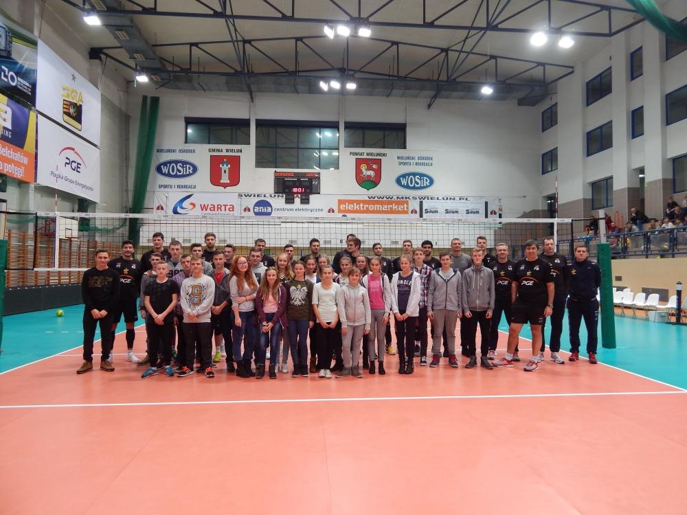 Otwarty trening w Wieluniu (19.11.2016)