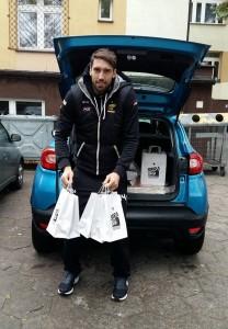 Marcel Gromadowski odwiedza szkoły w powiecie łowickim